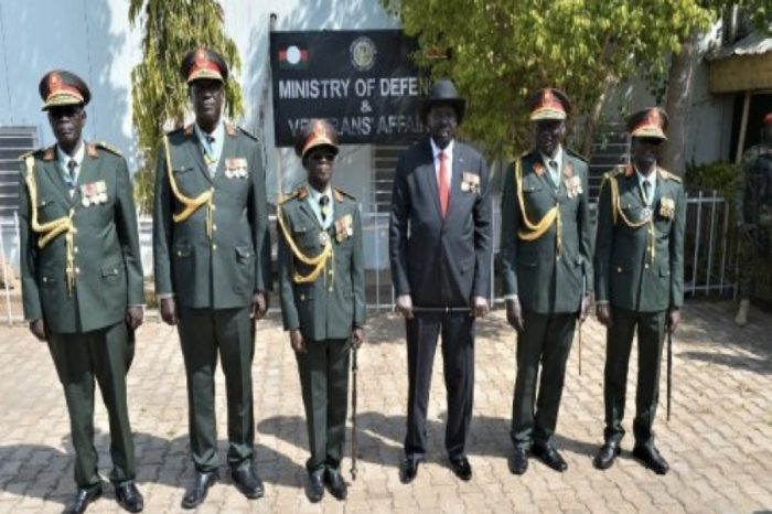 Reunification of armed forces: SPLM-IO claims Kiir wants S. Sudan's army to be under his control, Kiir asserts that SPLM-IO has an outrageous number generals