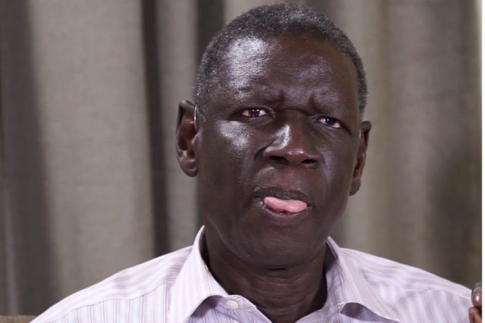Henry Odwar, deputy SPLM-IO leader, resigns as minister of miningowing to health issues