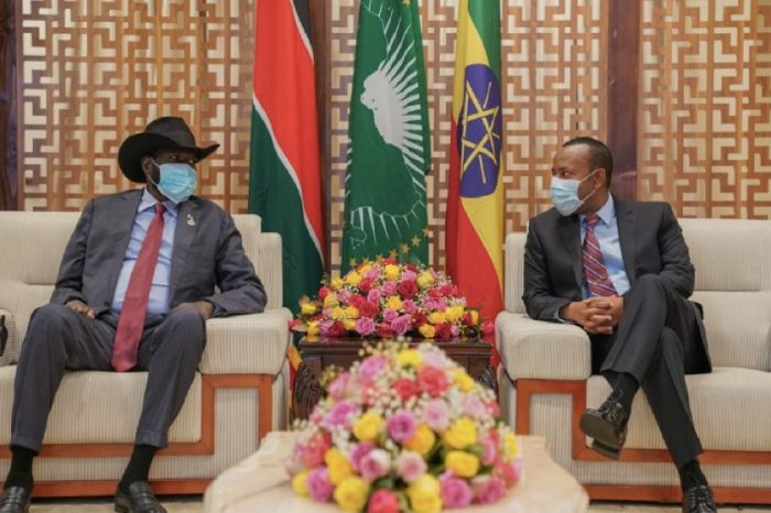 Kiir on an Official Working Visit to Ethiopia
