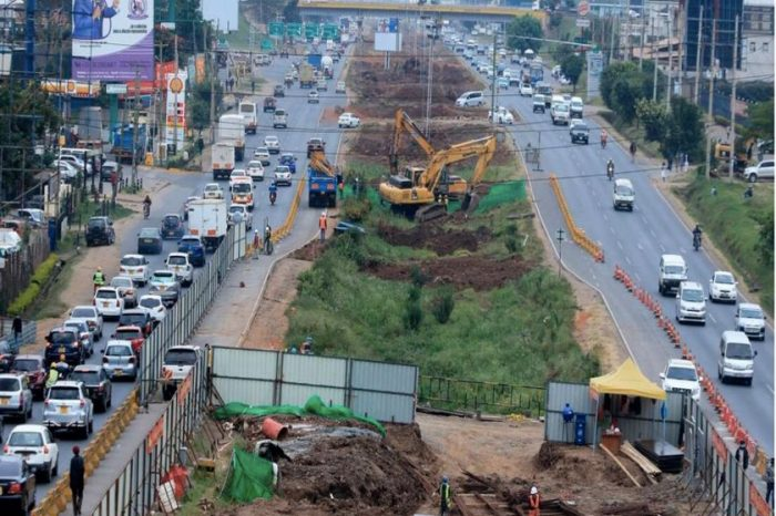 Kenyan roads authority will reopen sections of Mombasa road to alleviate traffic