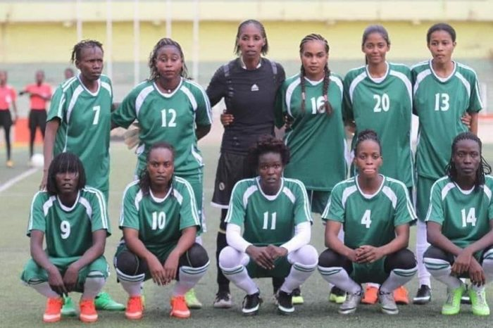 South Sudan's women's squad hone their skills in preparation for the COSAFA competition.