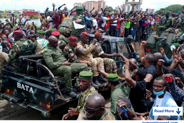 Guinea Coup plotters liberate the first group of 'political prisoners'