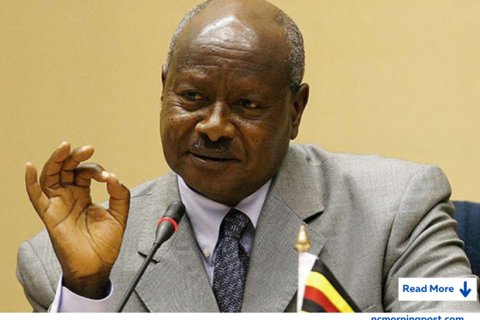 """Ugandan President Yoweri Museveni has said that the leaders of the coup in Guinea """"should get out"""""""