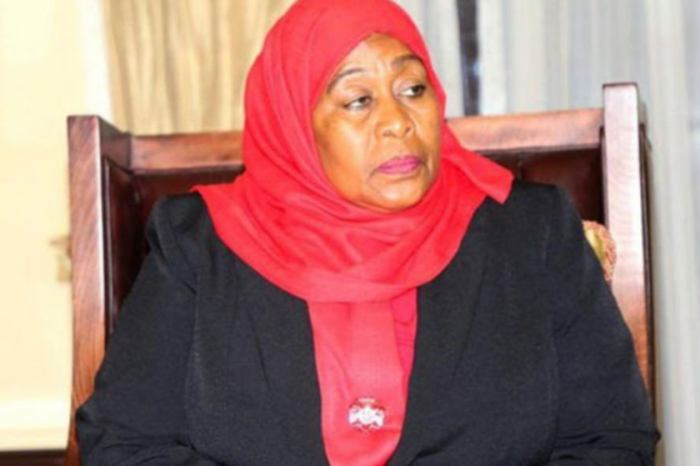 Tanzania's president rejects opposition accusations that she is leading the nation towards dictatorship.
