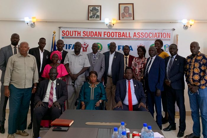 Fatma Samba Diouf Samoura, FIFA General Secretary, successfully completed a two-day visit to South Sudan.