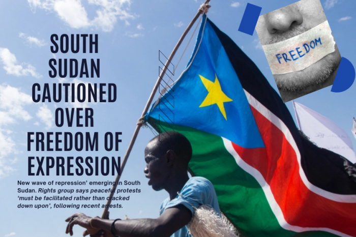 South Sudan cautioned over freedom of expression