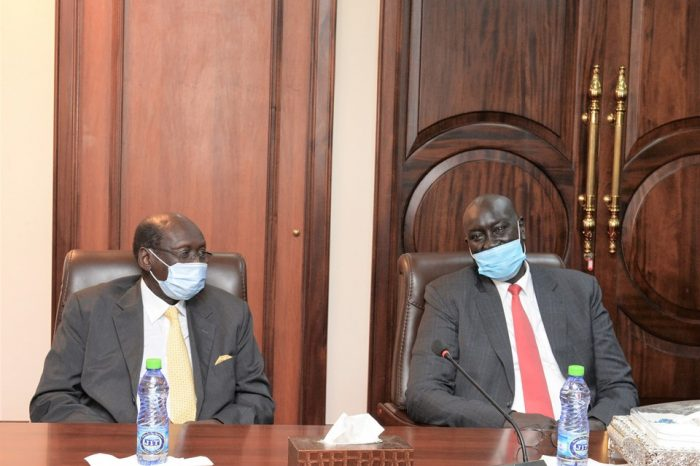 Kiir advises Mayiik to sort out delay of payments and poor working conditions in Foreign Affairs Ministry