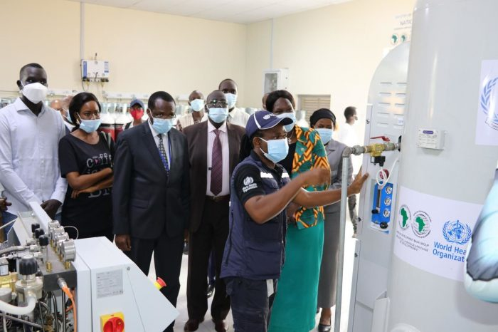 South Sudan - Country's First Oxygen Plant Comes On Stream At Juba Hospital to Help Fight Covid-19