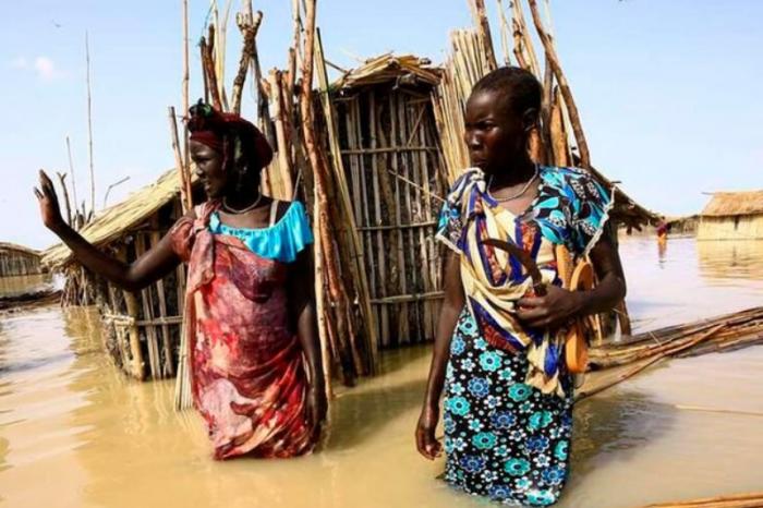 Floods in South Sudan iswreaking havoc.