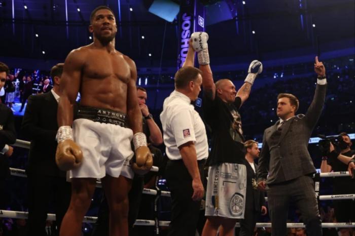 KING DEPOSED: Oleksandr Usyk defeats Anthony Joshua to claim world heavyweight title