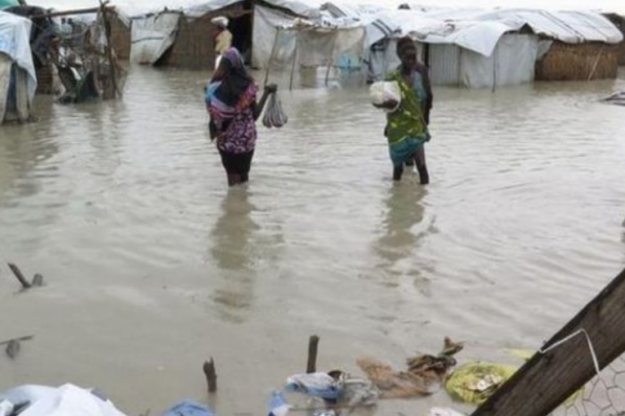 Heavy downpour dislodges hundreds of homes in Juba Suburbs