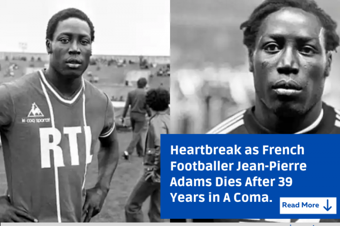 French footballer Jean-Pierre Adams dies aged 73 after 39 years in a coma