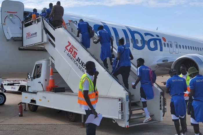 South Sudan's Bright Star depart for Mini tournament in Morocco